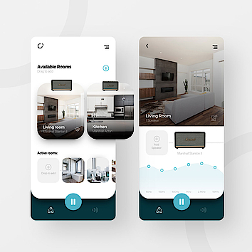 User Interface Designkonzept // Smarthome